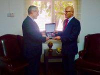 TC Büyükelçisi Kanbay Talat'ı ziyaret etti