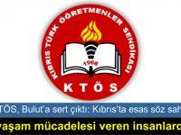 """""""Kıbrıslı Türklere besleme edebiyatı yaparak hakaretler yağdıran bir danışman..."""""""