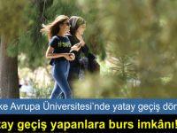 LAÜ'ye yatay geçiş yapan öğrencilere burs imkanı