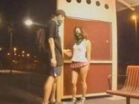 Tren istasyonunda seks yapıp kaydeden ve hatta internete yükleyen o çift…