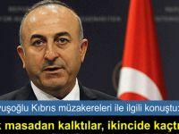 Çavuşoğlu, Yunanistan'ın eleştirilerine cevap verdi
