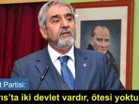 """""""Kıbrıs'ta yine sıkıntılı bir sürecin başlayacağı endişesi taşıyoruz"""""""