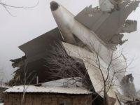 Bişkek'te düşen uçakta ölü sayısı yükseliyor