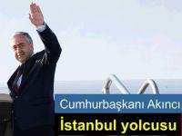 Cumhurbaşkanı Akıncı İstanbul'a gidiyor