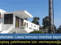 """CTP'li Özdenefe: """"Anafartalar Lisesi Girne'nin simgelerindendir"""""""