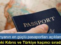 Ocak 2017 itibarıyla en güçlü pasaportlar belirlendi
