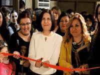 Cumhurbaşkanı Vekili Siber, Seramikçiler Derneği sergisinin açılışına katıldı