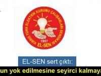 EL-SEN, KIB-TEK'teki alacaklar ve borçları  kamuoyuyla paylaşılacak