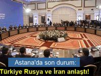 Türkiye, Rusya ve İran üçlü ortak mekanizmayla izleme ve uygulanmasını sağlama konusunda uzlaştı