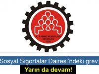 Sosyal Sigortalar Dairesi Girne şubesinde tam gün grev uygulanacağını bildirdi