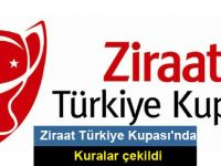 Ziraat Türkiye Kupası'nda çeyrek final ve yarı final kuraları çekildi