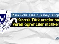 Trodos'taki saldırı Rum polisinin incelemesinde