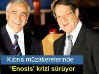 Kıbrıs müzakerelerinde 'Enosis' krizi sürüyor