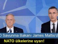 ABD Savunma Bakanı James Mattis'den NATO ülkelerine uyarı