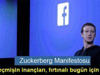 Zuckerberg Manifestosu': Sessiz geçmişin inançları, fırtınalı bugün için yetersizdir