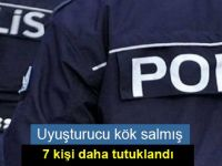 Uyuşturucu madde tasarrufu 7 kişi tutuklandı