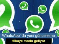 Yeni güncelleme ile WhatsApp hikaye modu geliyor