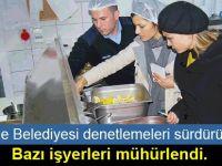 Girne Belediyesi'nin gıda denetimleri 2017 yılında artarak  sürüyor