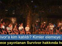 Survivor'a kim katıldı, kimler elemeye kaldı
