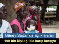 Güney Sudan'da açlık alarmı