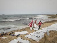 Libya sahiline 74 mülteci cenazesi vurdu