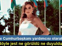 İlham Aliyev, eşi Mihriban Aliyeva'yı cumhurbaşkanı yardımcısı olarak atadı