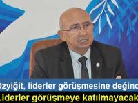 TDP lideri Özyiğit'ten flaş açıklama!