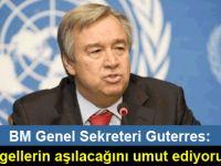 Guterres Kıbrıs konusunda umutlu