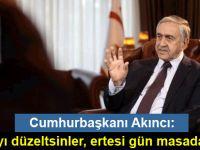 """""""Kıbrıs Türk halkı Kıbrıs'ta, Kıbrıs Rum toplumu kadar eşit bir varlıktır"""""""