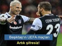 Beşiktaş'ın UEFA maçları artık şifresiz!