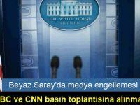 Beyaz Saray'da medya engellemesi: BBC ve CNN basın toplantısına alınmadı