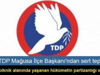 TDP Mağusa İlçe Başkanı'ndan sert tepki