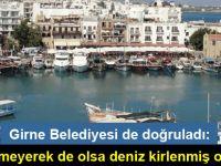 Girne'de denize pis su akıyor!