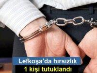 Lefkoşa'da müstahdem Tarafından Hırsızlık