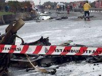 İstanbul'da helikopter düştü: 4'ü Rus 5 ölü