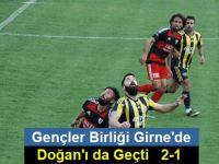 Gençler Birliği Girne'de Doğan'ı da geçti   2-1