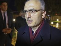 TC Maliye Bakanı Ağbal KKTC'DE