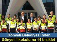 Gönyeli Belediyesi'nden, Gönyeli İlkokulu'na 14 bisiklet