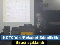 KKTC'nin 'Rekabet Edebilirlik' sırası açıklandı
