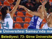 Girne Üniversitesi maçtan 73-64 mağlup ayrıldı