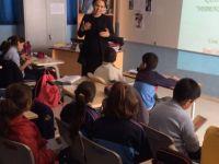 Cihangir-Düzova ilkokulu öğrencilerine yönelik kanser farkındalık semineri