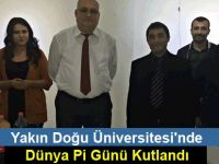 Yakın Doğu Üniversitesi'nde Dünya Pi Günü Kutlandı
