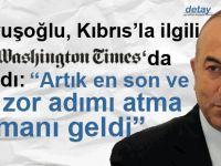 """""""Türkiye ve KKTC, Kıbrıs'ta çözüme ulaşma konusunda kararlıdır"""""""