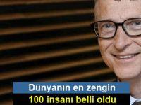 Dünyanın en zengin 100 insanı belli oldu