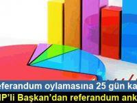 CHP'li Başkan'dan referandum anketi