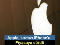 Apple, kırmızı iPhone'u piyasaya sürdü