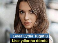 Leyla Lydia Tuğutlu lise yıllarına döndü