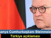 Almanya Cumhurbaşkanı Steinmeier'den Türkiye açıklaması