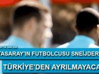 Sneijder'den Türkiye açıklaması