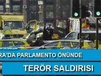 Londra'da parlamento önünde terör saldırısı